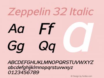 Zeppelin 32