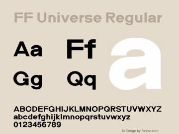 FF Universe