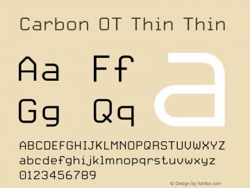 Carbon OT Thin