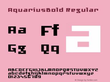 AquariusBold