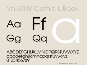 Vn URW Gothic L