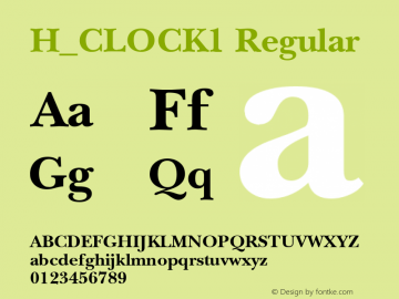 H_CLOCK1