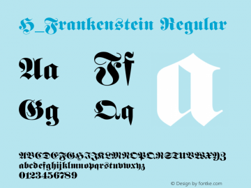 H_Frankenstein