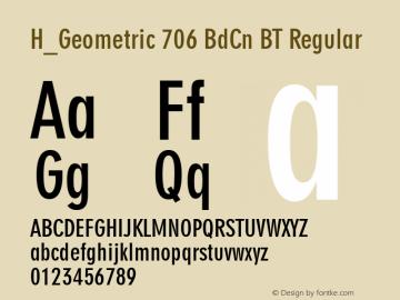 H_Geometric 706 BdCn BT