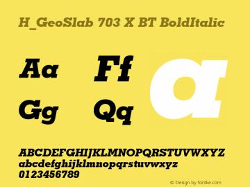 H_GeoSlab 703 X BT