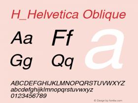 H_Helvetica