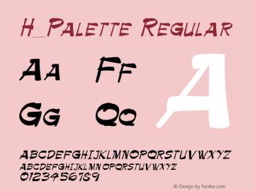 H_Palette