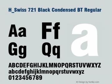 H_Swiss 721 Black Condensed BT