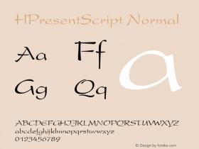 HPresentScript