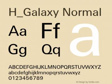 H_Galaxy