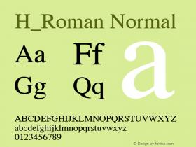 H_Roman