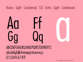 Kudos Light Condensed SSi