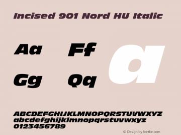 Incised 901 Nord HU