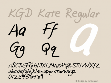 KGD Kate