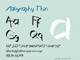 Xaligraphy