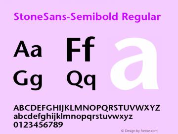 StoneSans-Semibold