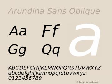 Arundina Sans