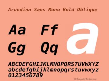 Arundina Sans Mono