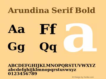 Arundina Serif