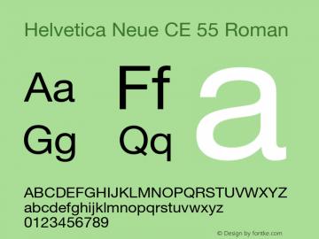 Helvetica Neue CE 55