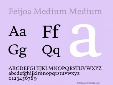 Feijoa Medium