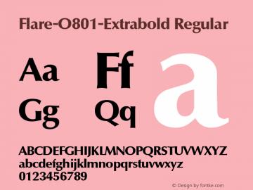 Flare-O801-Extrabold