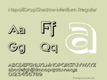 NapoliDropShadow-Medium