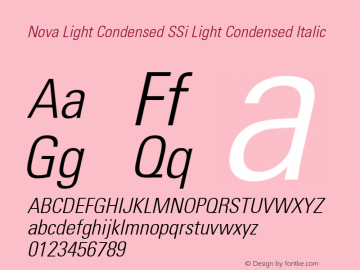 Nova Light Condensed SSi