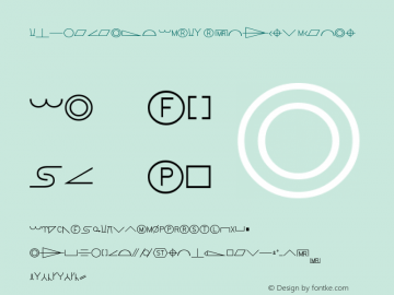 Intergraph ANSI1 Symbols