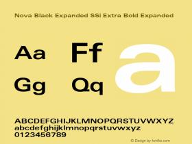 Nova Black Expanded SSi