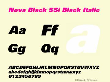 Nova Black SSi