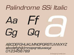 Palindrome SSi