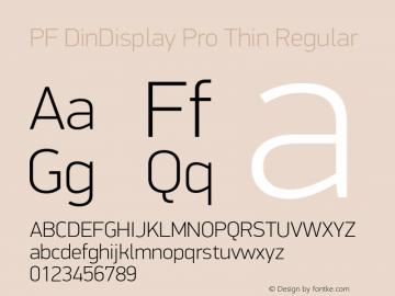 PF DinDisplay Pro Thin