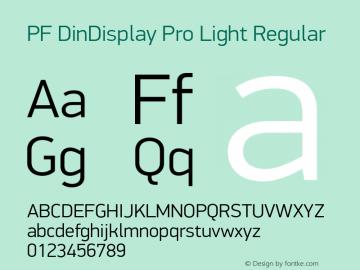 PF DinDisplay Pro Light