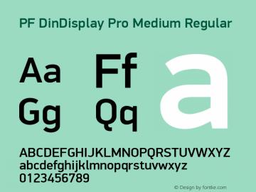 PF DinDisplay Pro Medium