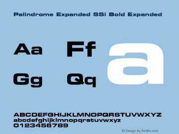 Palindrome Expanded SSi