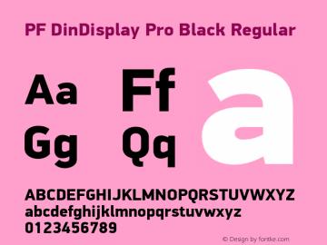 PF DinDisplay Pro Black