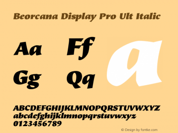 Beorcana Display Pro Ult