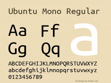 Ubuntu Mono