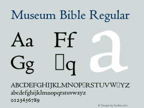 Museum Bible