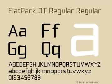 FlatPack OT Regular