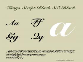 Tango Script Black SSi