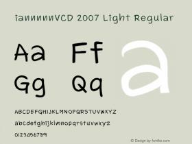 iannnnnVCD 2007 Light