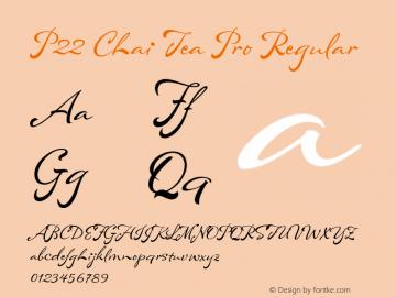 P22 Chai Tea Pro