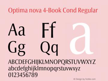 Optima nova 4-Book Cond