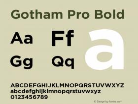 Gotham Pro