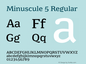 Minuscule 5