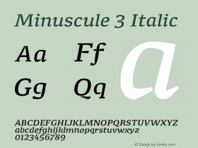 Minuscule 3