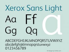 Xerox Sans
