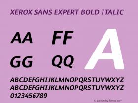 Xerox Sans Expert